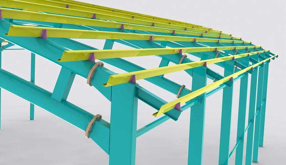 تصویر سوله مدلسازی شده در تکلا