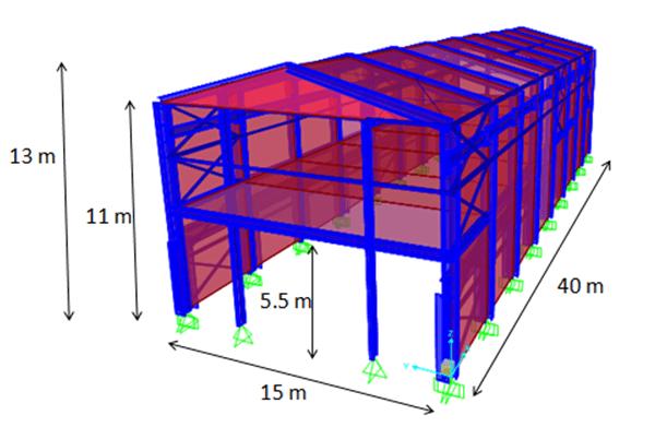 شكل هندسه سازه (تاثیر جداگر لرزه ای لاستیکی در سوله)