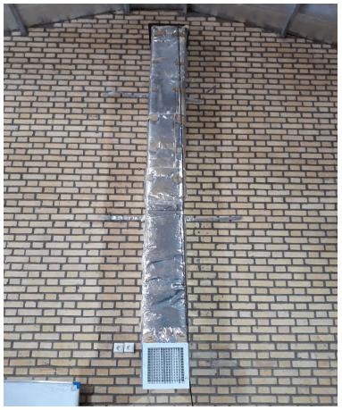 توزیع دمای داخل سوله ، سیستم تهویه سوله