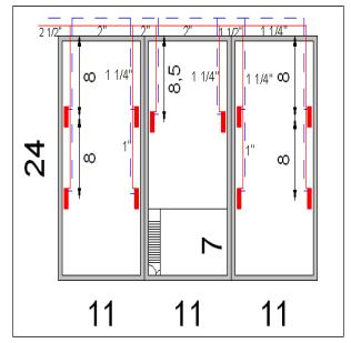 مقایسه هزینه های سوخت سیستم گرمایش تابشی و حرارت مرکزی یک سوله 860 متر مربعی