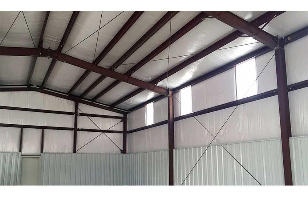 بررسی عایق های حرارتی سقف و دیواره سوله ها