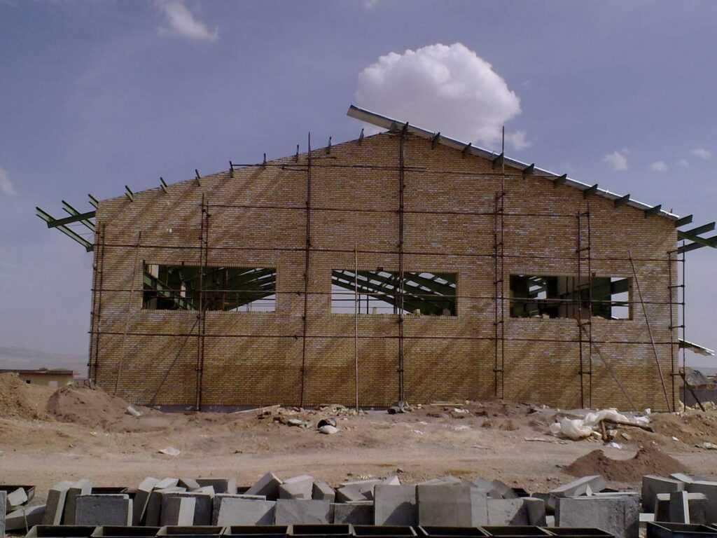 پروژه سوله Work Shope شاهرود