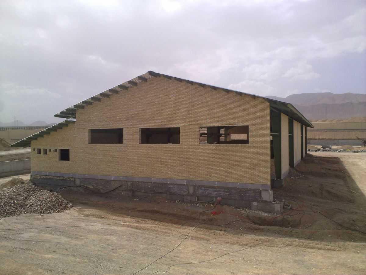 براورد هزینه ساخت سوله 1100 متر مربعی در شاهرود