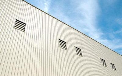انواع دیوارهای سوله کدامند و مصالح رایج در ساخت آنها چیستند؟
