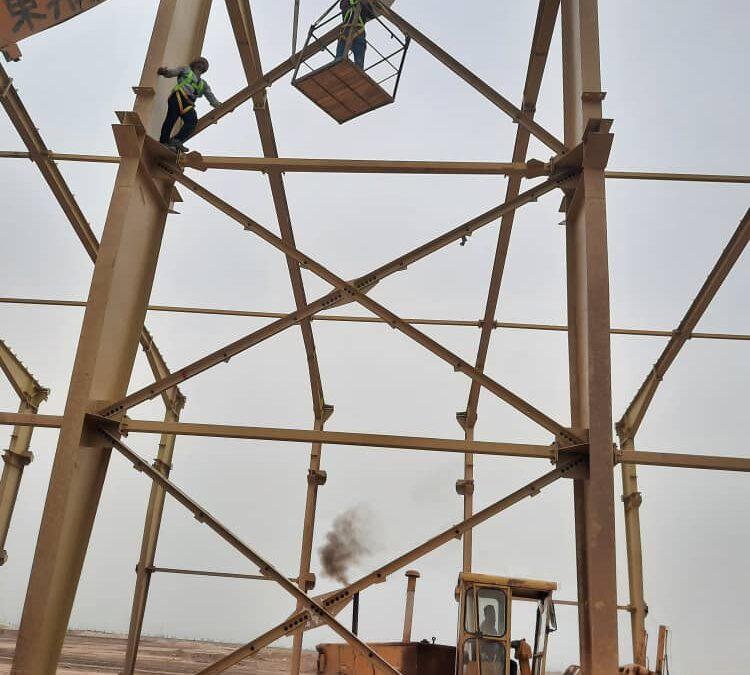 پروژه سوله های کارخانه کاغذ سازی خوزستان